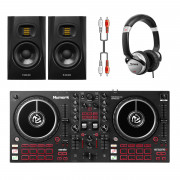 View and buy Numark Mixtrack Pro FX + T5V Monitors + Headphones online