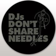 View and buy DMC Technics DJs Don't Share Needles Slipmats - Pair online