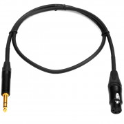 View and buy MOGAMI 1m TRS Jack to XLRF Cable (XF-25340-J3-1) online
