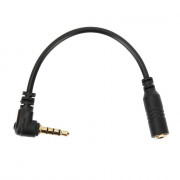 View and buy Moving Mic MMSC4 3.5mm Male TRRS To Female TRS Adaptor for Smartphone/Tablet online