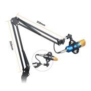 View and buy NJS NJS067P Studio Swivel Boom Arm Black online