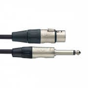 View and buy Stagg NMC3XPR XLRF to Jack Microphone Cable 3m online