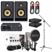 View and buy Rode NT1A Ultimate Vocal Recording Pack with Rokit 5 G4 online
