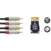 View and buy Stagg N-Series Twin RCA Cable 1m online