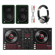View and buy Numark Mixtrack Platinum FX DJ Bundle With CR3-X Monitors + Headphones online