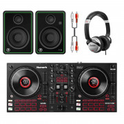 View and buy Numark Mixtrack Platinum FX DJ Bundle With CR4-X Monitors + Headphones online