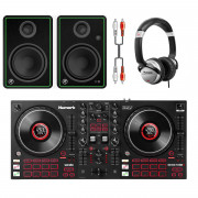 Buy the Numark Mixtrack Platinum FX DJ Bundle With CR5-X Monitors + Headphones online