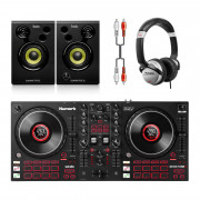 View and buy Numark Mixtrack Platinum FX + Monitor 32 + Headphones online