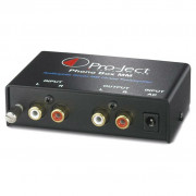 View and buy PROJECT Phono Box MM Turntable Preamp (moving magnet only) online