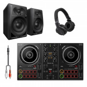 Buy the Pioneer DJ DDJ-200 DJ System Bundle with HDJ-CUE1 Headphones & Monitors online