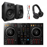 Buy the Pioneer DJ DDJ-400 DJ System Bundle with HDJ-CUE1 Headphones & Monitors online