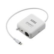 View and buy Korg plugKEY iOS MIDI / Audio Interface - White online