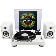 View and buy Pioneer DJ 1 x PLX500W + DM40W Bundle online