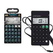 View and buy Teenage Engineering PO-128 Mega Man Pocket Operator w/ Case online