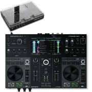 View and buy Denon DJ Prime Go with Decksaver  online
