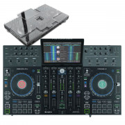 View and buy Denon DJ Prime 4 + Decksaver Bundle online