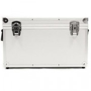 """Buy the DYNAMIC DESIGN Pro Box 45 Large 7"""" Record Case (Holds 100) - Silver online"""