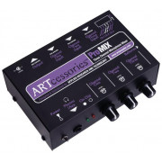 View and buy ART ProMIX 3 Channel Mic Mono Mixer online