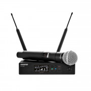 View and buy Shure QLXD24UK/SM58-K51 Digital Handheld Wireless Microphone System online