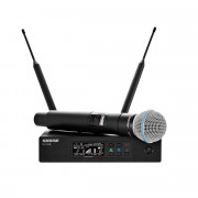 View and buy Shure QLXD24UK/BETA58 Digital Handheld Wireless Microphone System online