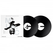 View and buy Pioneer DJ RB-VD2-K Rekordbox Control Vinyl Black - Pair online