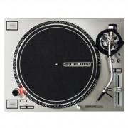 View and buy Reloop RP7000 MK2 Silver Direct Drive DJ Turntable online