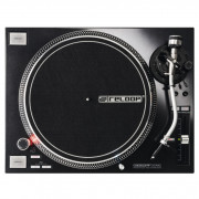 Buy the Reloop RP7000 MK2 Black Direct Drive DJ Turntable online