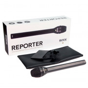 View and buy RODE Reporter Omnidirectional Interview Microphone with Mic Flag online