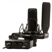 View and buy Rode AI-1 Complete Studio Bundle with Rode NT1 online