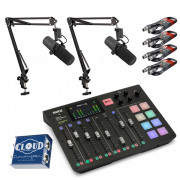 View and buy Rodecaster Pro Bundle with Shure SM7B Pair + CL-2 online