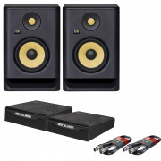 View and buy KRK Rokit 5 G4 Pair with XLR Cables & Isolation Pads online