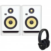 View and buy KRK Rokit 7 White Noise with KNS6400 Headphones online