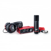 View and buy Focusrite Scarlett Solo Studio 3rd Gen Recording Package online