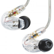 Buy the SHURE SE215 Sound Isolating Earphones - Clear online