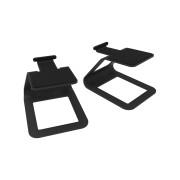 View and buy Kanto SE2 Elevated Desktop Stands Black online