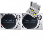 View and buy Technics SL1200 MK7 Pair + Concorde Club MK2 Twin Pack online