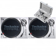 View and buy Technics SL1200 MK7 Pair + Concorde Mix MK2 Twin Pack online