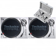 View and buy Technics SL1200 MK7 Pair + Concorde Scratch MK2 Twin Pack online