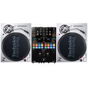 View and buy Technics SL1200 MK7 + Pioneer DJ DJM-S7 Mixer online