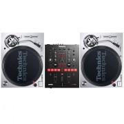View and buy Technics SL1200 MK7 + Numark Scratch Mixer online