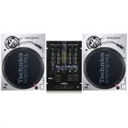 View and buy Technics SL1200 MK7 + Reloop RMX33i Mixer online