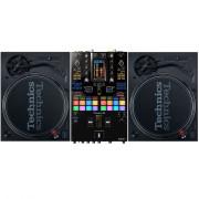 View and buy Technics SL1210 MK7 + Pioneer DJ DJM-S11 Bundle online