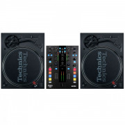 View and buy Technics SL 1210 MK7 Pair + Mixars DUO MK2 Scratch Mixer online