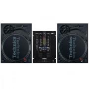 View and buy Technics SL 1210 MK7 Pair + RMX-22i Mixer online