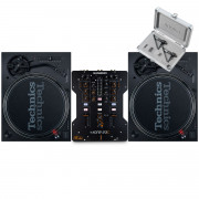 View and buy Technics SL 1210 MK7 Pair + XONE:23C with Cartridges online