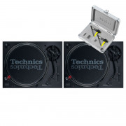 View and buy Technics SL 1210 MK7 Pair + Concorde Club MK2 Twin Pack online