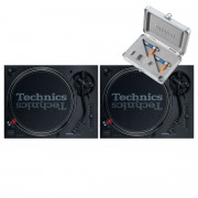 View and buy Technics SL 1210 MK7 Pair + Concorde DJ MK2 Twin Pack online