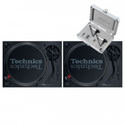 View and buy Technics SL 1210 MK7 Pair + Concorde Scratch MK2 Twin Pack online