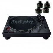 View and buy Technics SL 1210 MK7 & Isonoe Isolator Feet Set of 4 (Black) online