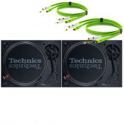 View and buy Technics SL 1210 MK7 Pair With Neo RCA Turntable Cables online